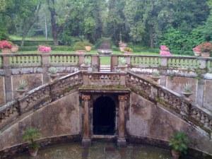 entrance to a garden